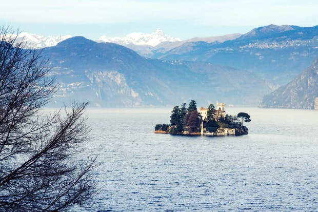 Monteisola and its lake
