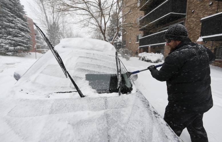 Snow Disrupts Travel Across U.S.