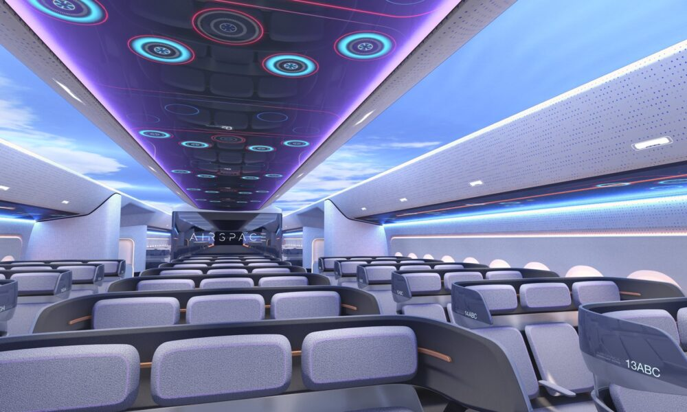The Future Of Airline Passenger Cabins
