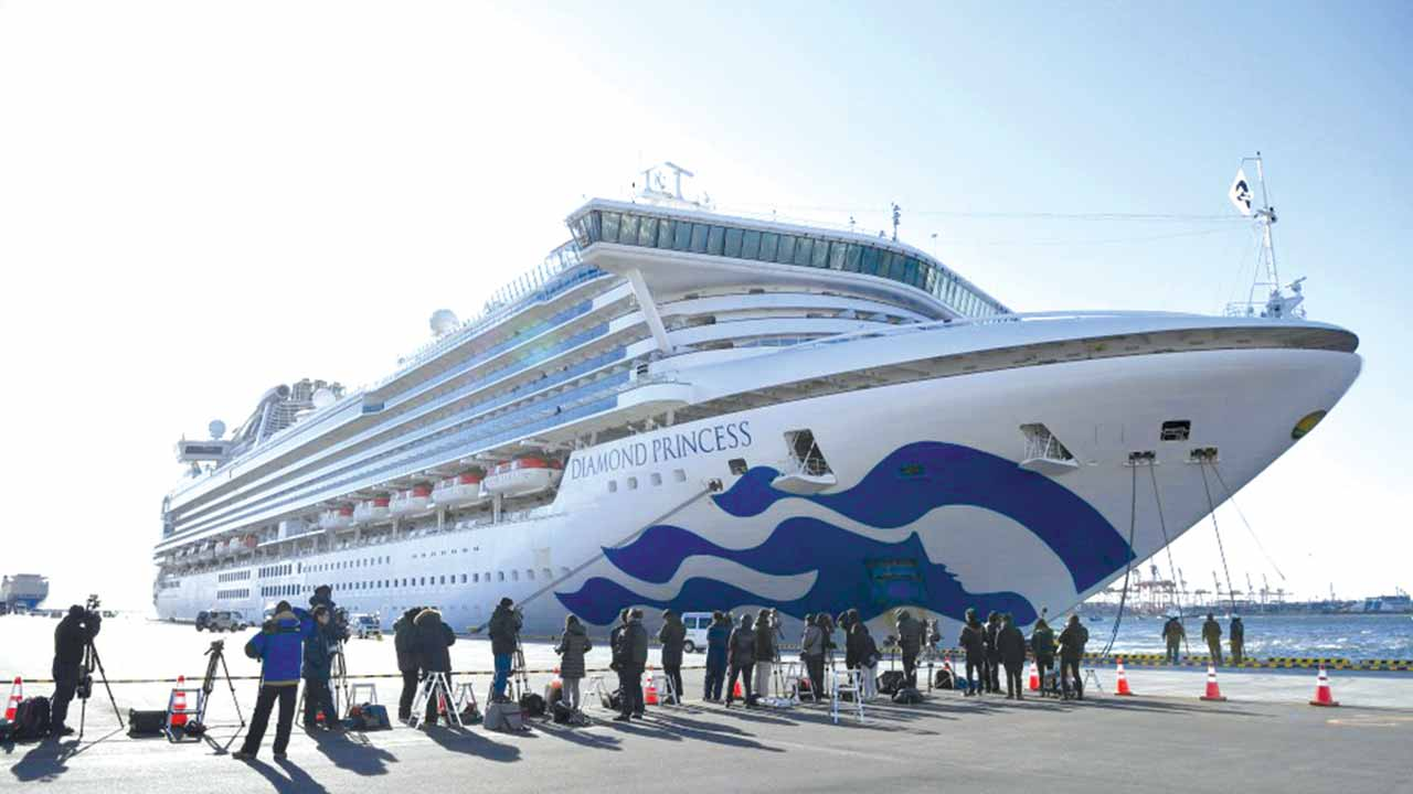 Cruise ships in troubled waters over coronavirus