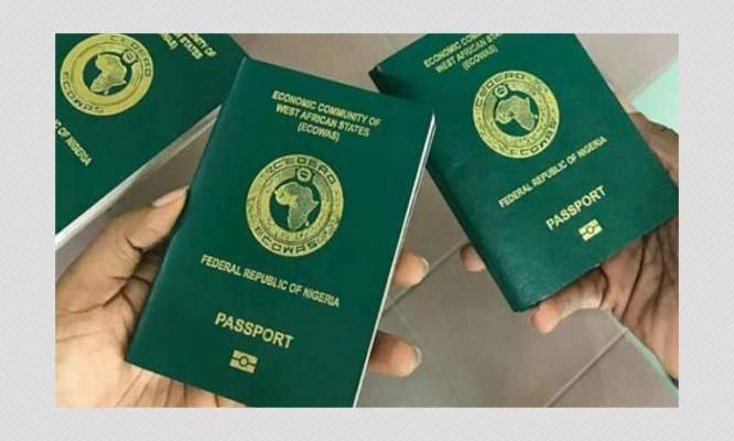Nigeria's passport remains in 95th place in the Henley Passport Index; countries have not eased travel curbs